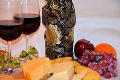 Wine & Cheese Still Life