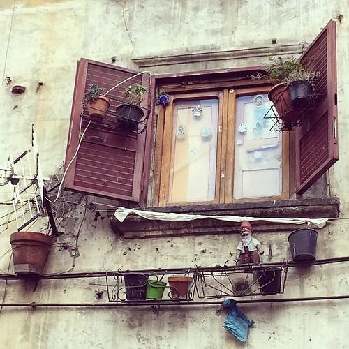 Bella #Napoli ❤️ #window #Naples #Italy