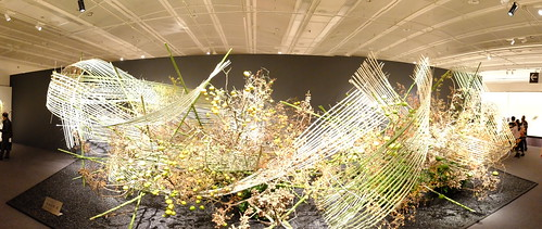 Iemoto Akane Teshigahara The 96th Sogetsu Annual Exhibition 2014 Autumn 30