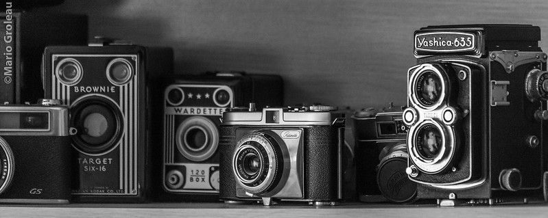 Cameras (Wardette, Retinette,Brownie,Yashica,Paxette)