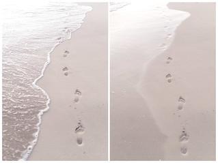 صورة La concha. beach spain sand fuerteventura steps footprints canarias prints loslagos elcotillo