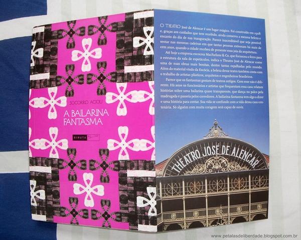 A Bailarina Fantasma, teatro, José de Alencar, livro, resenha, sinopse, trechos, crítica