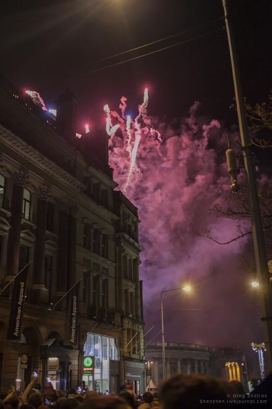 NYF Dublin fireworks