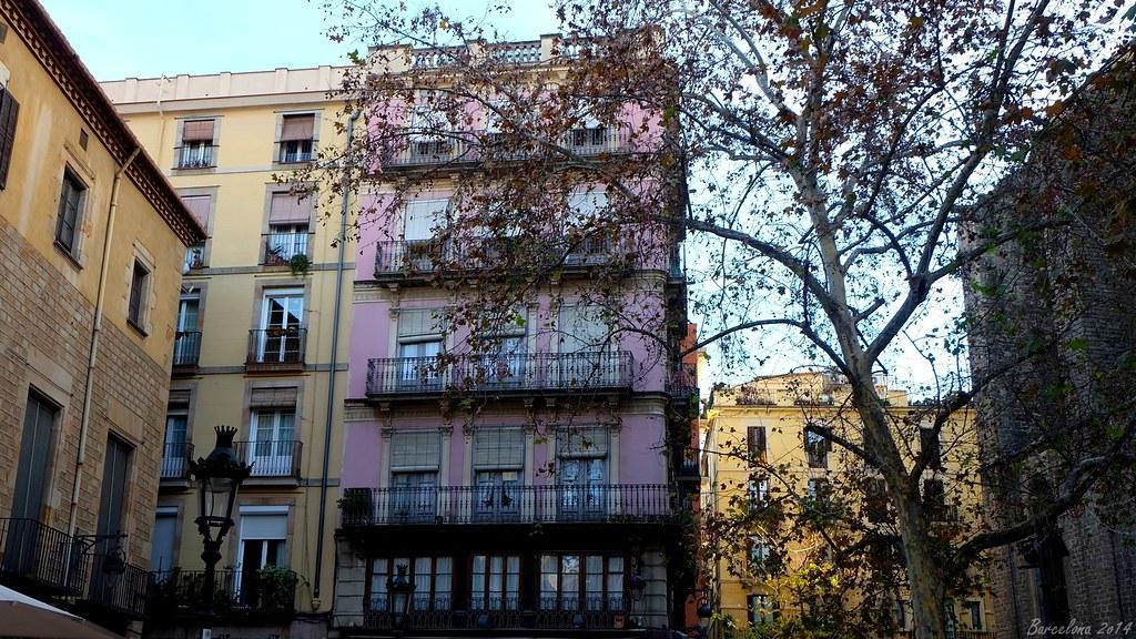 Barcelona day_1, Plaça de Sant Josep Oriol