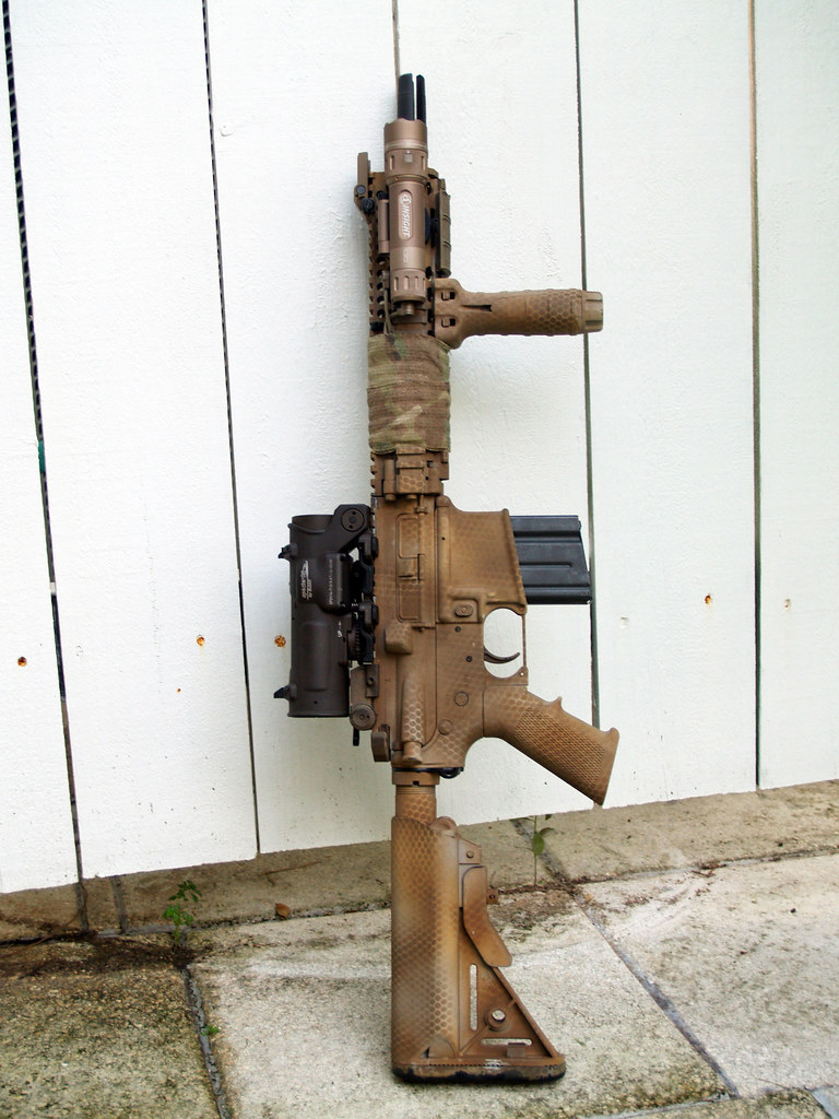 Rattle Canned Spray Painted Ar 15 Picture Thread Ar15 Com