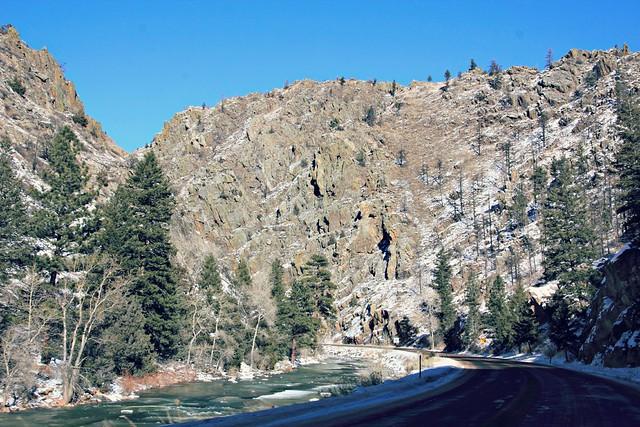 Cache La Poudre Canyon, Colorado