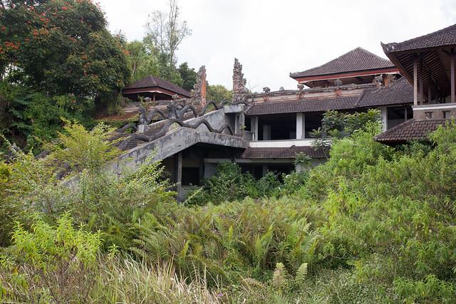 Abandoned 5 stars hotel