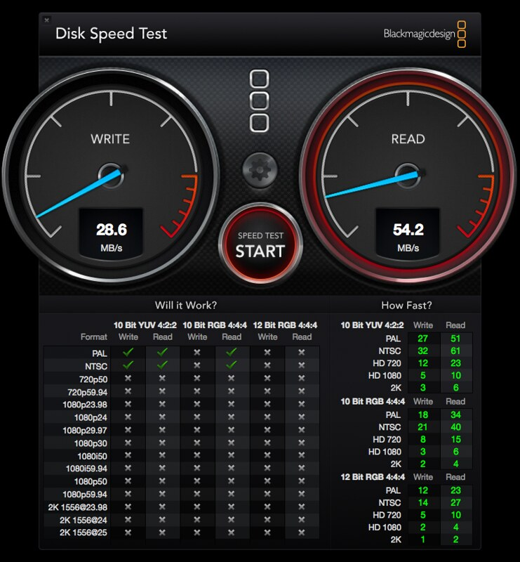 Storage01 - Disk Speed Test
