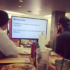 Monthly #lunchandlearn at @trackmaven! #tmculture