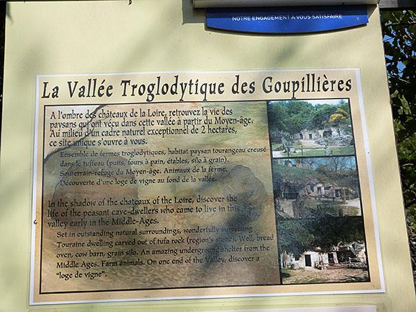 vallée troglodytique