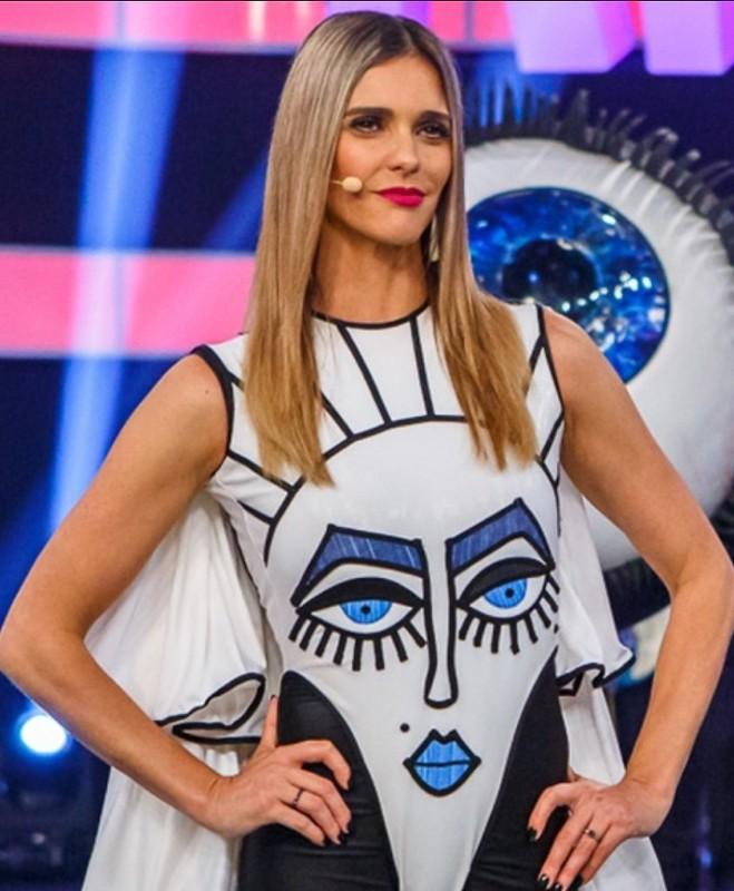 O batom de Fernanda Lima em Amor e Sexo ontem!