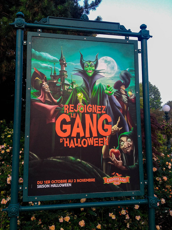 Halloween at Disneyland Paris Poster