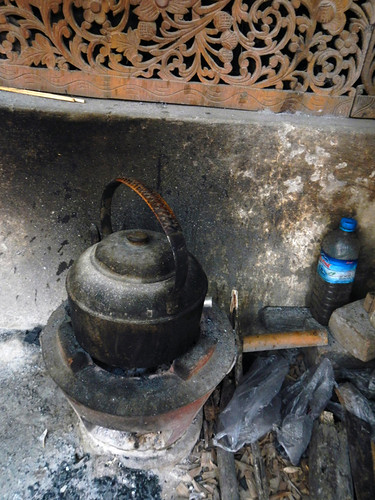 A Kettle In the Mandalay Wood Carvers' Workshop