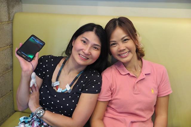 Irene (SingaporeMomBlogs.com) & me!