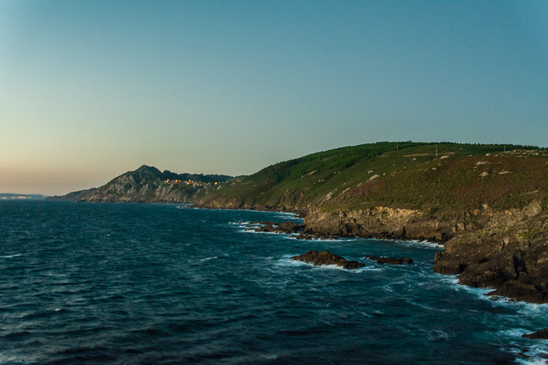 Costa da Vela y Donón al fondo