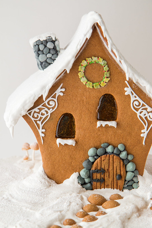 A Very Fairy Gingerbread House Ginger 2014 Will Cook For Friends