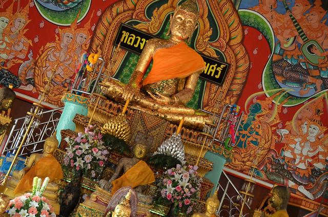 Templo budista de Damnoen Saduak