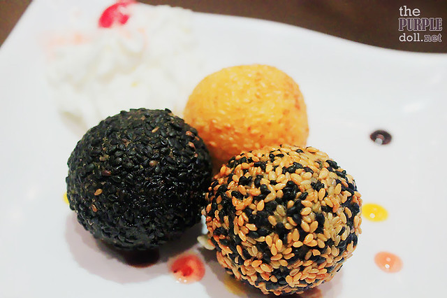Three Flavor Chocolate Truffle Buchi (P128)
