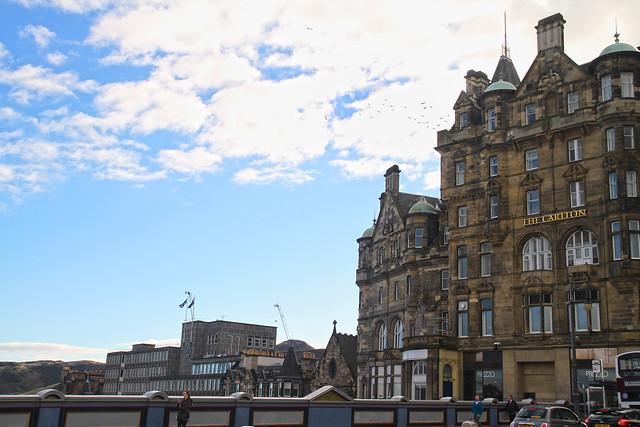 UK Autumn Trip - Edinburgh City: The Carlton
