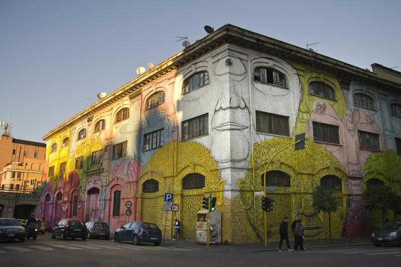 Portuense - street art - Rome