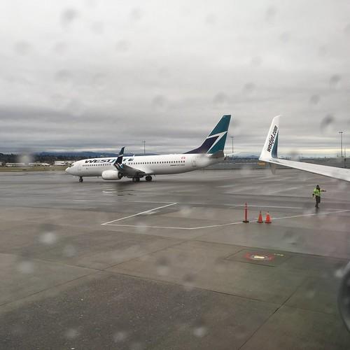 Leaving rainy Vancouver for Las Vegas