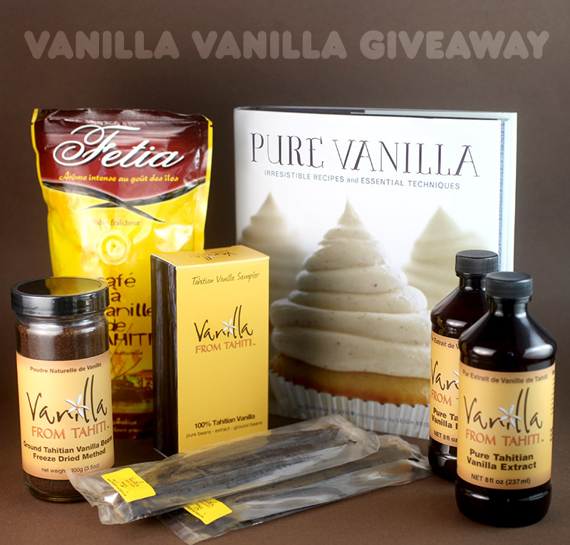 Vanilla Vanilla Giveaway