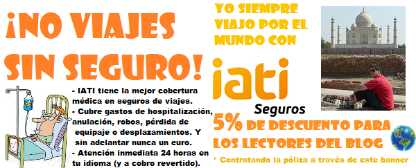 5% de descuento en SEGURO DE VIAJES IATI para lectores de El rincón de Sele style=