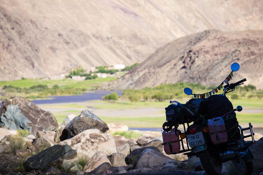 Вечереет. Озеро Тсо Морири © Kartzon Dream - авторские путешествия, авторские туры в Индию, тревел фото, тревел видео, фототуры