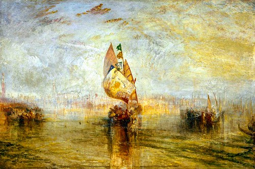 Turner Sol del Veneza going to sea