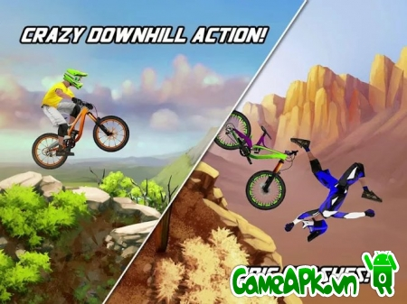 Bike Mayhem Mountain Racing v1.4.4 Unlocked cho Android