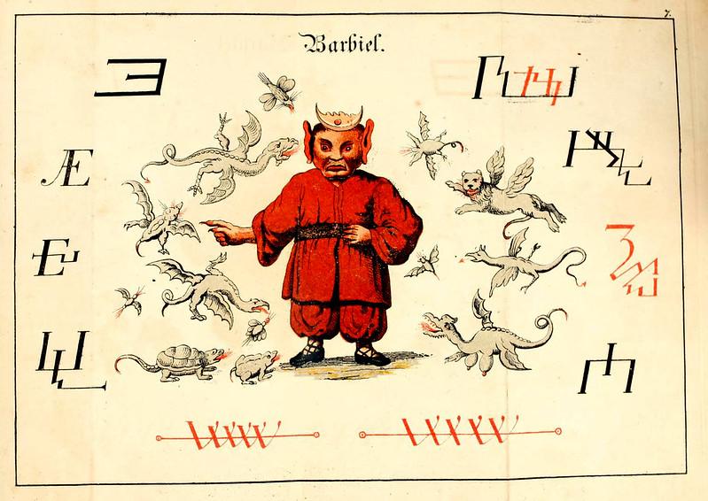 Johann Scheible - Doktor Johannes Faust's Magia naturalis et innaturalis, 1849 (3)