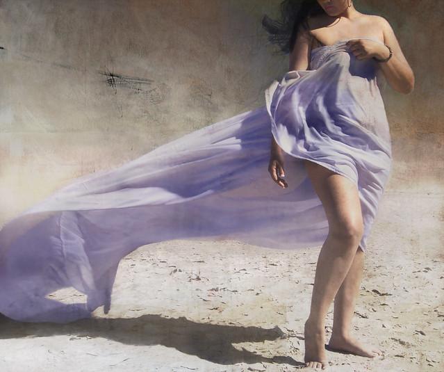 saul landell - azul violeta