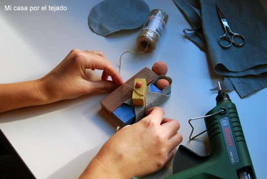 DIY - Belén de madera