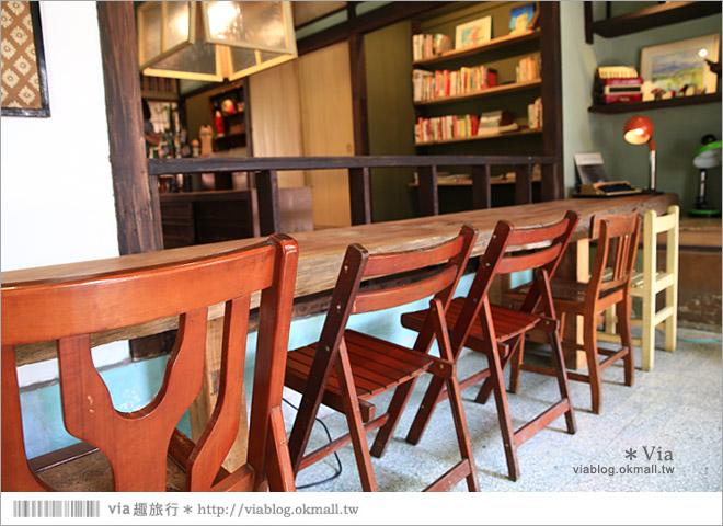 【台中老宅餐廳】台中下午茶~拾光機。日式老宅的迷人新風情,一起文青一下午吧!15