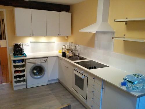 Kitchen coloured apartment