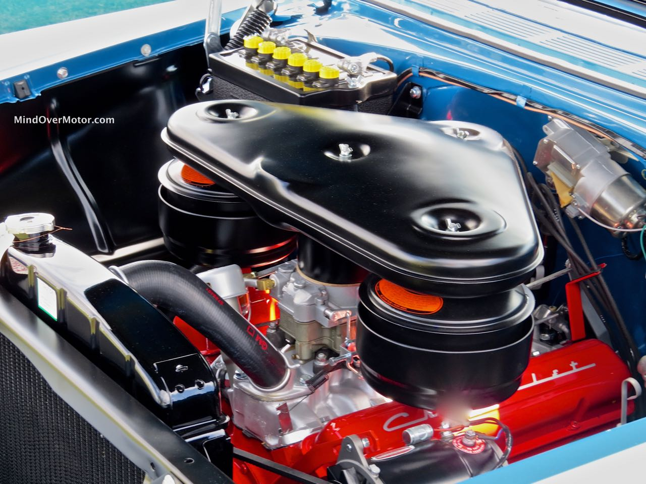 1956 Chevrolet Bel Air Convertible Engine