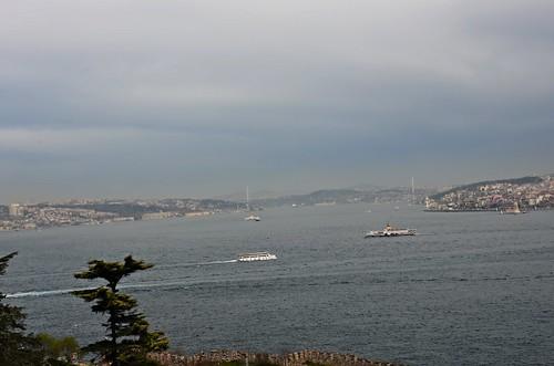 Der Ausblick auf den Bosporus, den auch der Sultan geniessen konnte