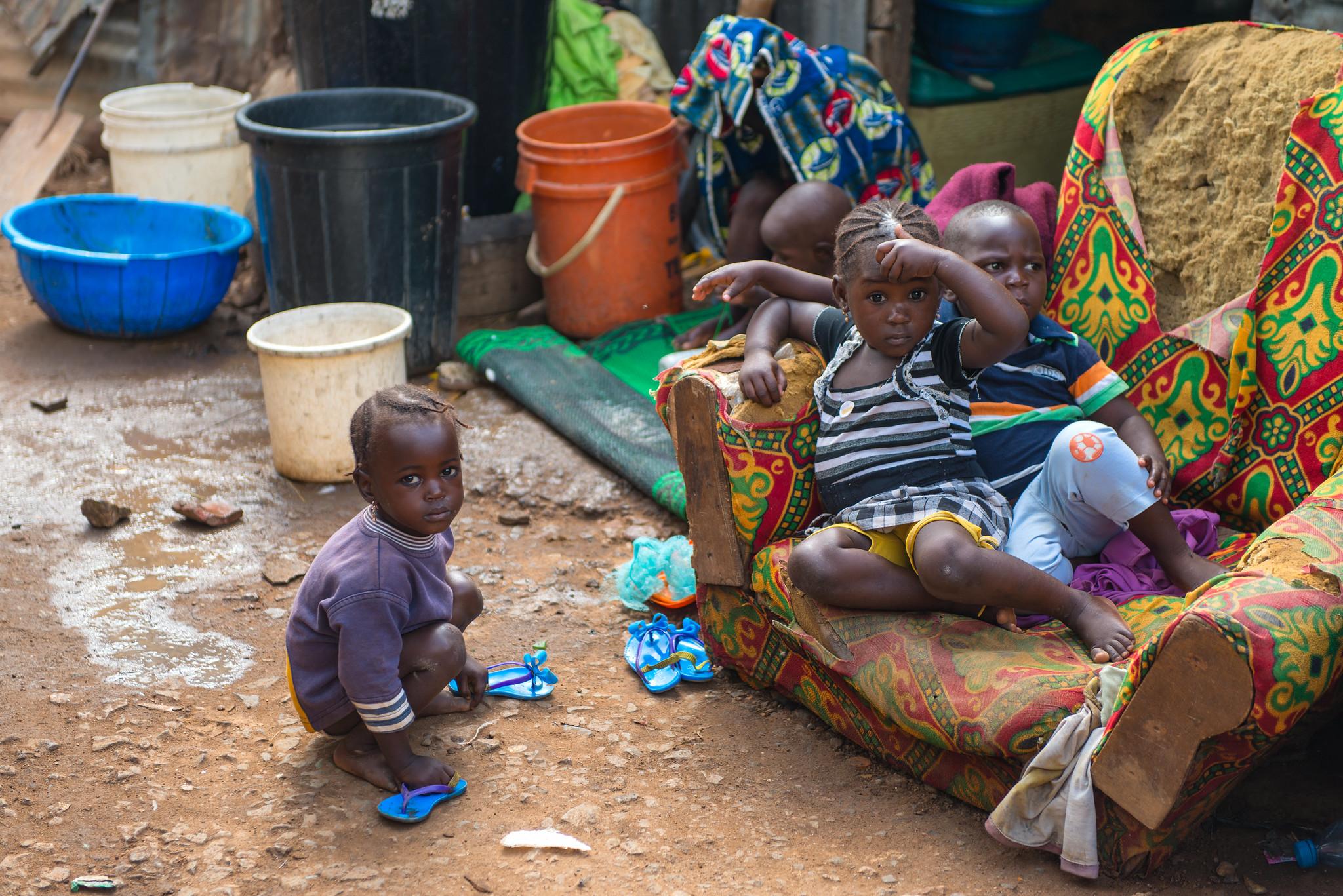 Kids in Abuja Slum