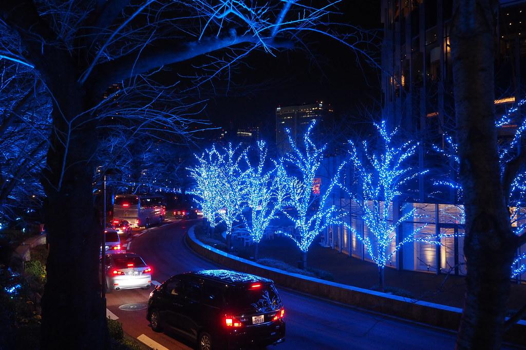 東京 Midtown Illumination