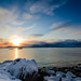 Lofoten sunset by Giorgio Brida