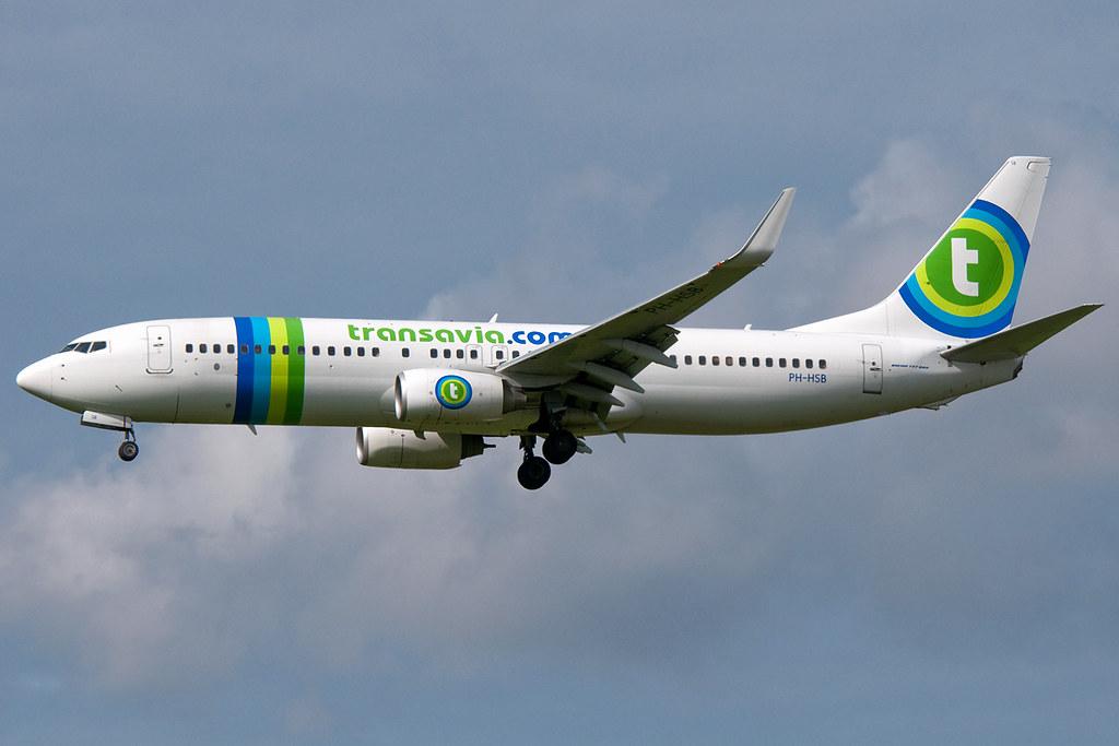 PH-HSB - B738 - Transavia