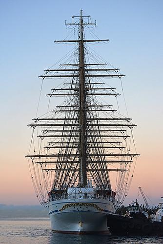 Nippon Maru stern view