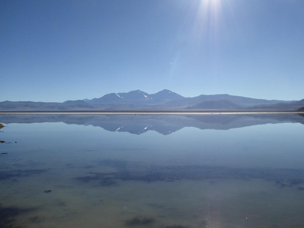 Laguna Santa Rosa, Chile