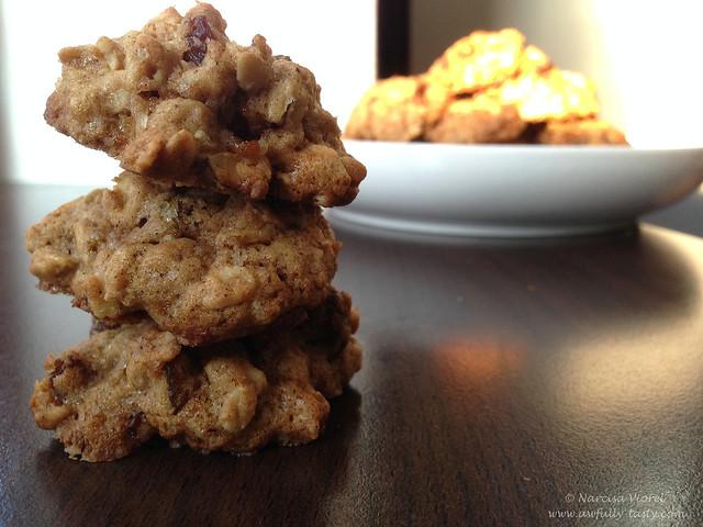 Cookies cu fulgi de ovaz si stafide