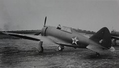 Republic P-43 Lancer P-43, 41-31449. Another view of the aircraft.