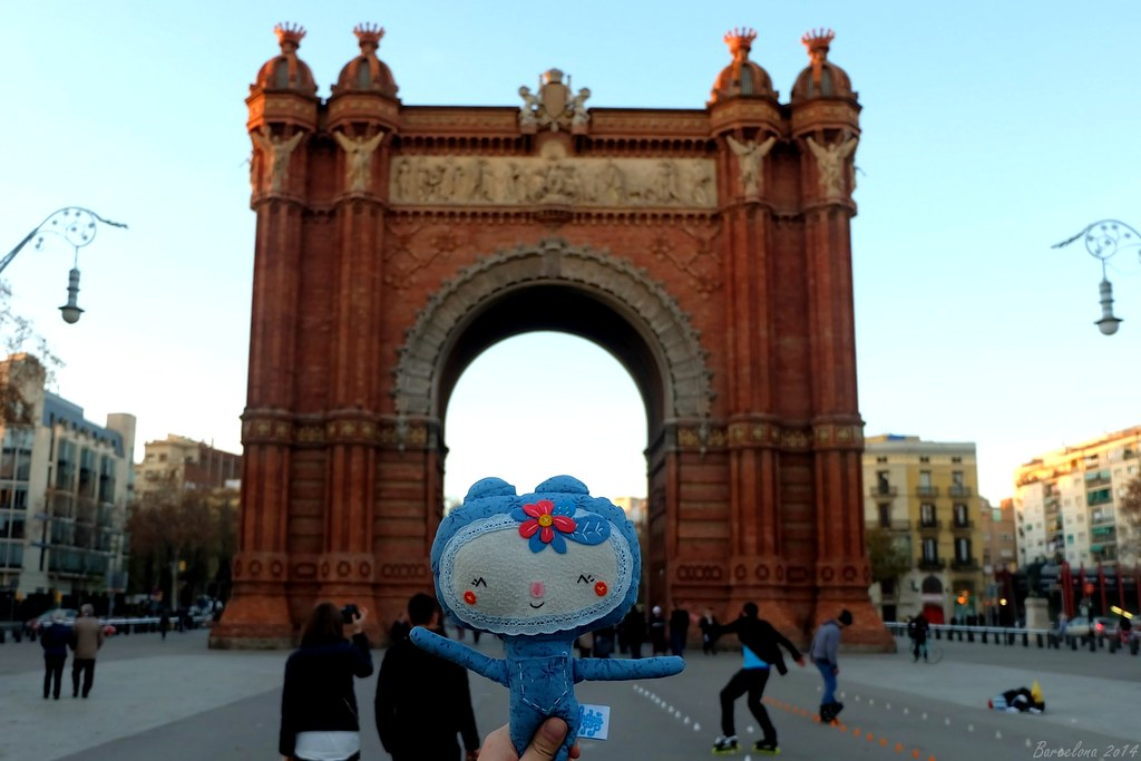 Barcelona day_3, Arco de Triunfo de Barcelona