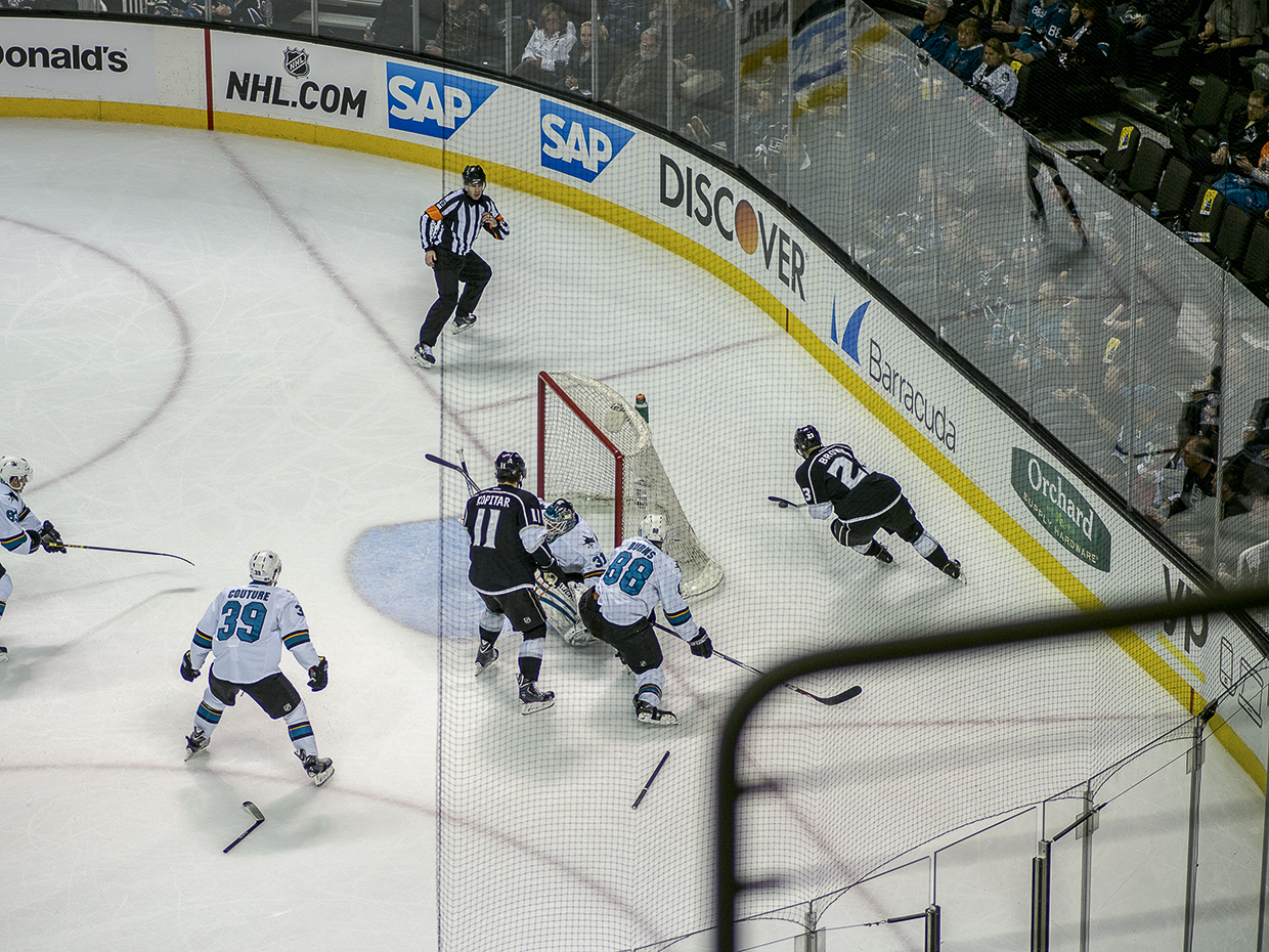 Hockey: Sharks Vs Kings 16345870145_9cc57a4161_o