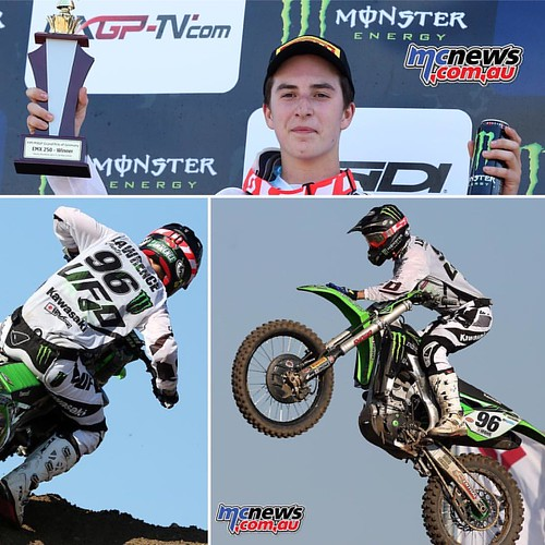@_hunterlawrence_ smoked them in #teutschenthal #germany #mxgp on the weekend. Go you good thing 👍 #mx #motocross #kawasaki #kx #hunterlawrence http://www.mcnews.com.au/hunter-lawrence-wins-in-germany/