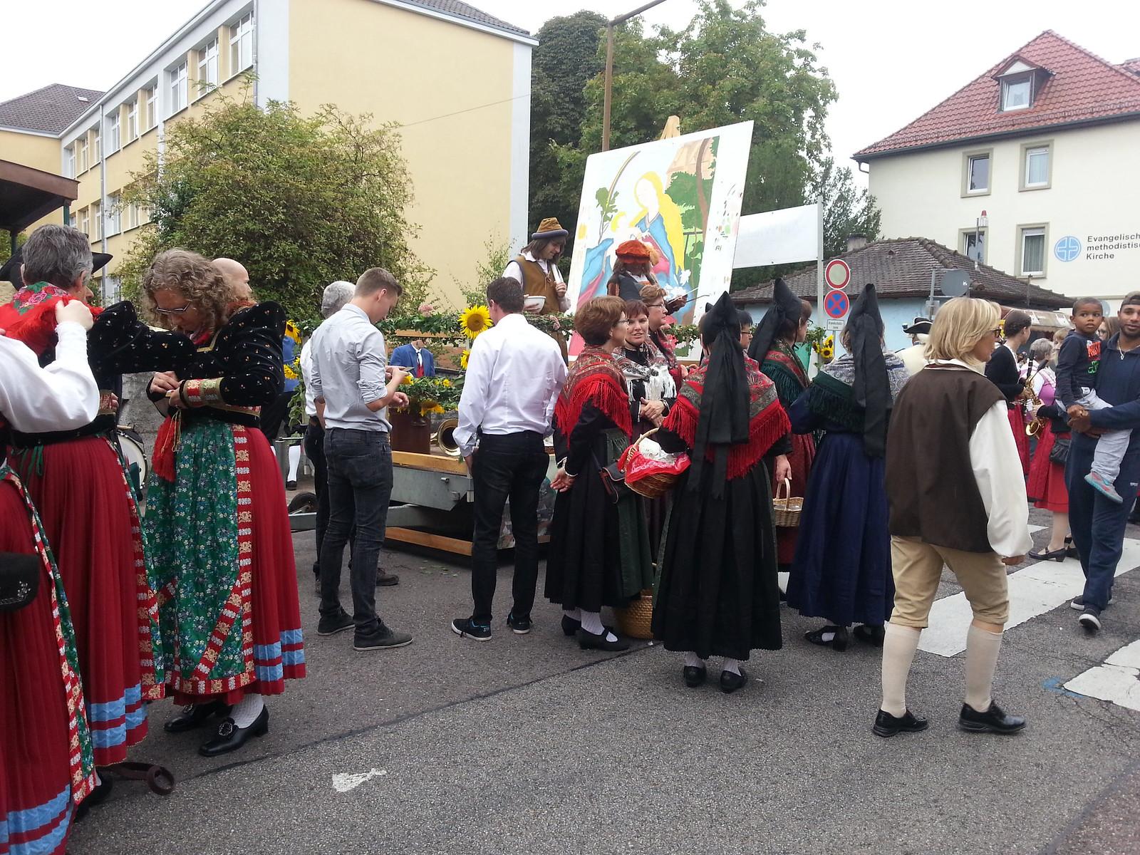 Landesfestumzug Bruchsal 2015