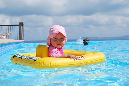 赤ちゃん プール 日焼け止め